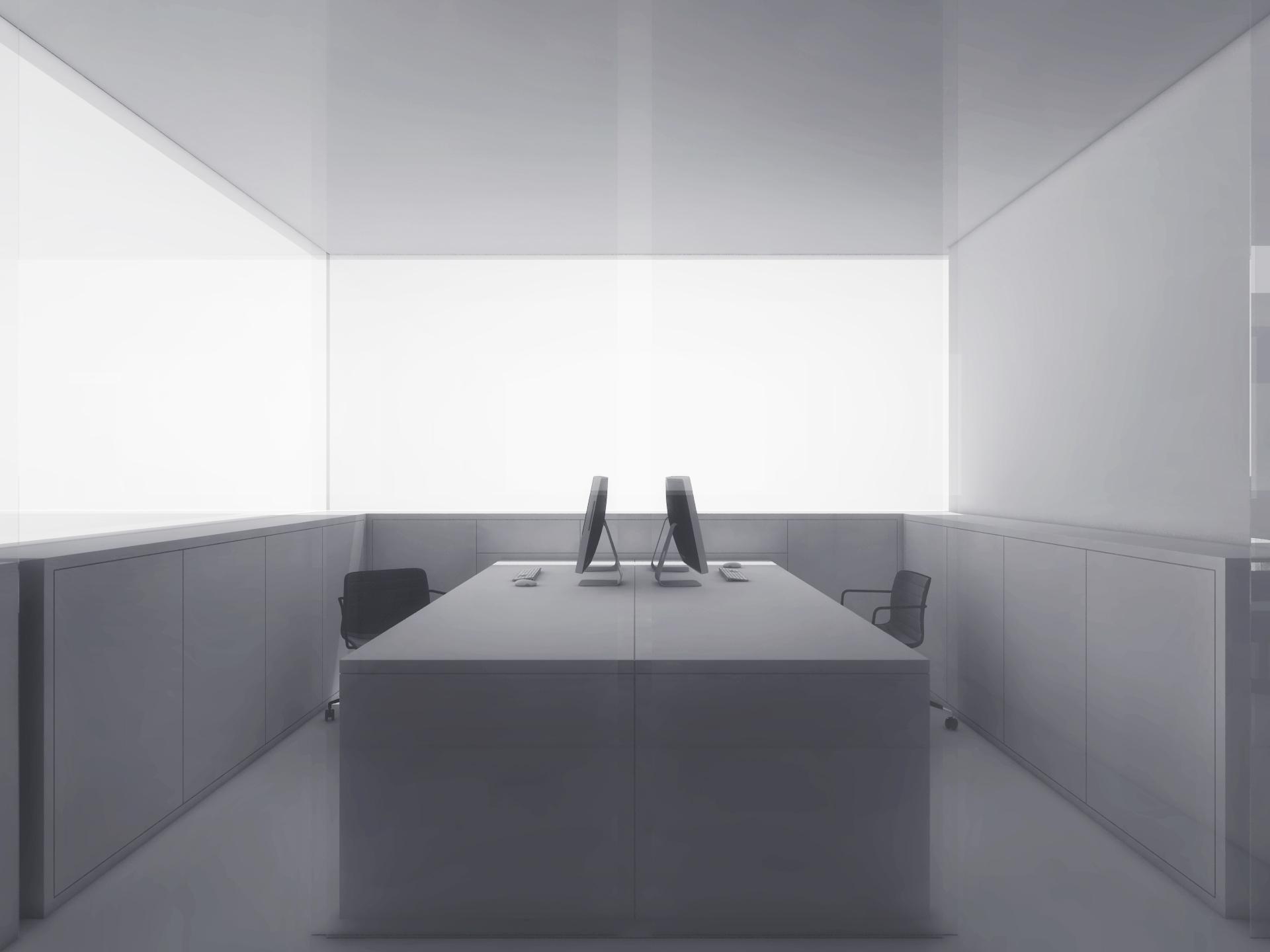 Arbeitsplatz Ansicht Office H.