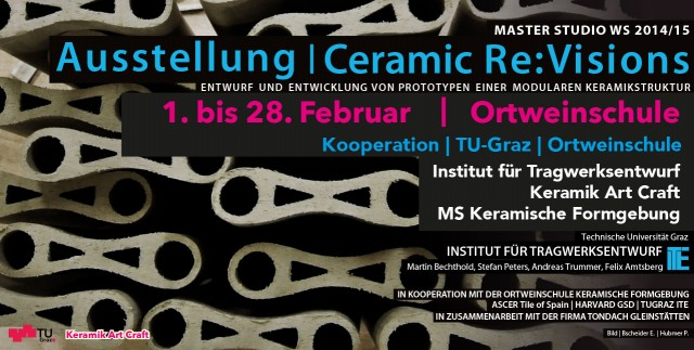 Ceramic Re:Visions Ausstellung TU-Graz Ortweinschule