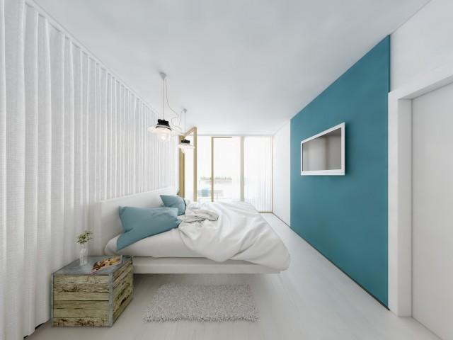 Rendering Schlafzimmer