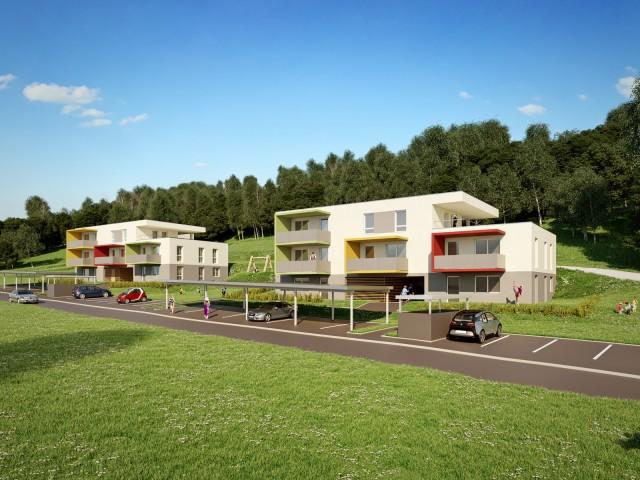 Wohnbau Ilztal, Sperl-Schrag Architektur