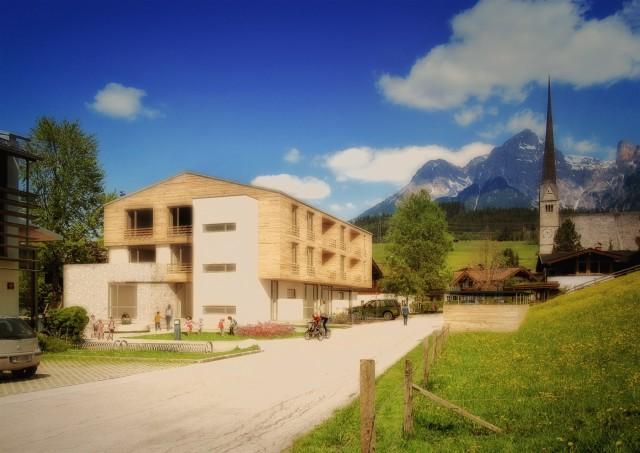 Kindergarten Maria Alm Umbau Wettbewerb 1. Platz Eitzinger Architektur