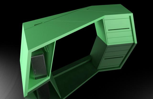 Desk Axo