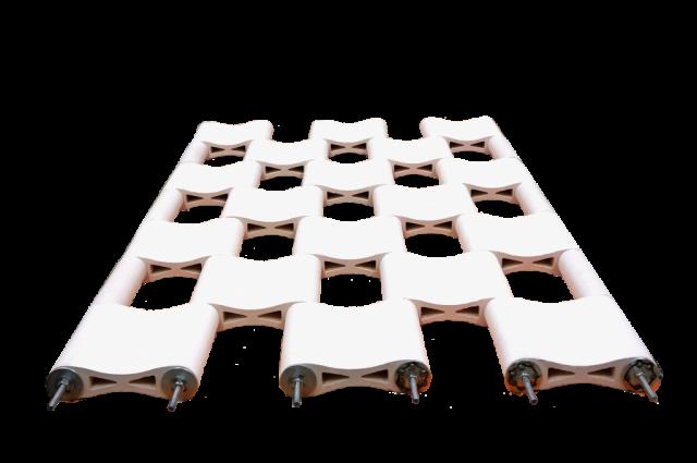 Modular Ceramic Structual System @ E.Bscheider, P. Hubmer 2015