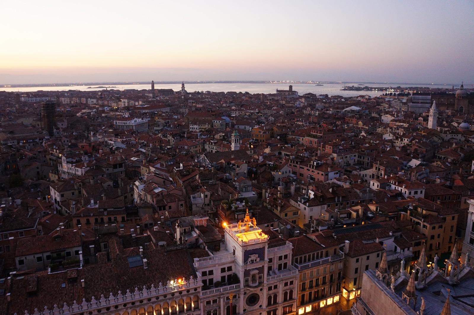Venice Roof Landscape