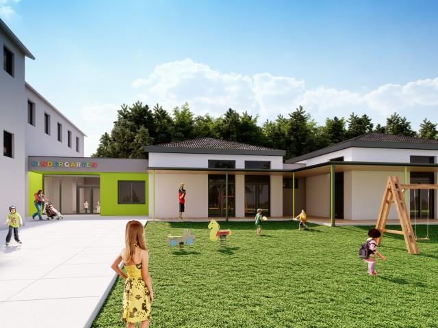Kindergarten St. Anna, Sperl-Schrag Architektur