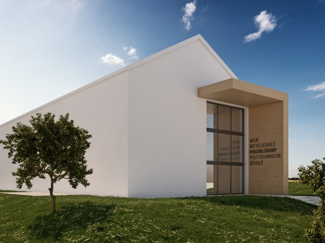 Wettbewerb NMS-Pischelsdorf, Architekturbüro Friessnig