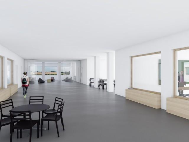 Wettbewerb Innenraum NMS-Pischelsdorf