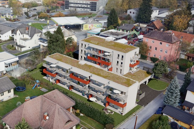 3D Visualisierung Liebenauerhauptstraße Graz M144 Wohnbau