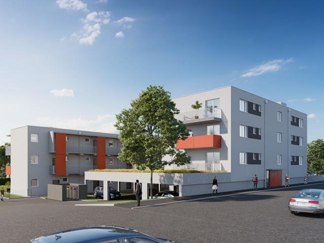 3D Visualisierung Liebenauerhauptstraße Graz M144 Wohnbau GmbH