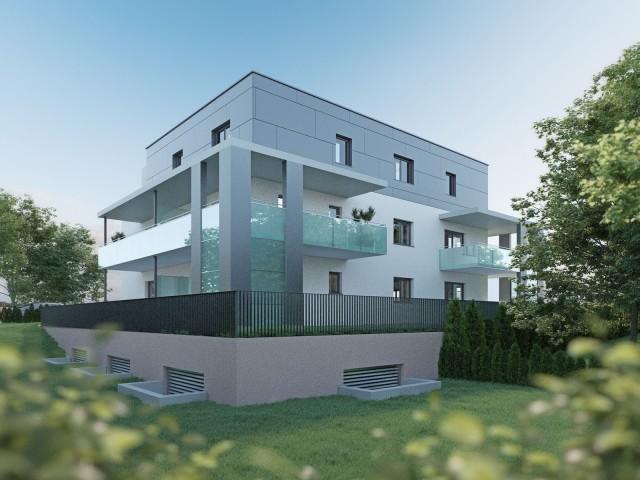 3D Visualisierung Aussen Nord Robert Stolz Gasse Graz Partl Baumeister GmbH