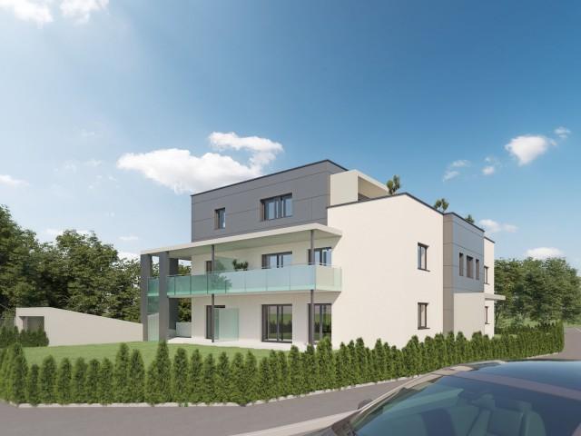 3D Visualisierung Aussen West Robert Stolz Gasse Graz Partl Baumeister GmbH