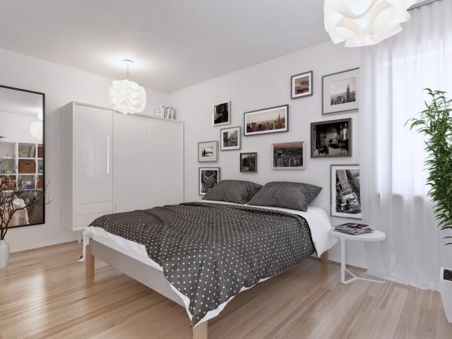 3D Visualisierung Leitring Schlafzimmer