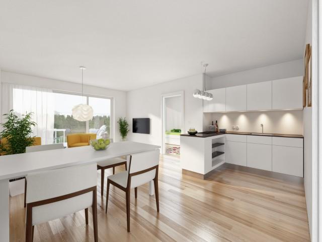 3D Visualisierung Leitring Wohnraum